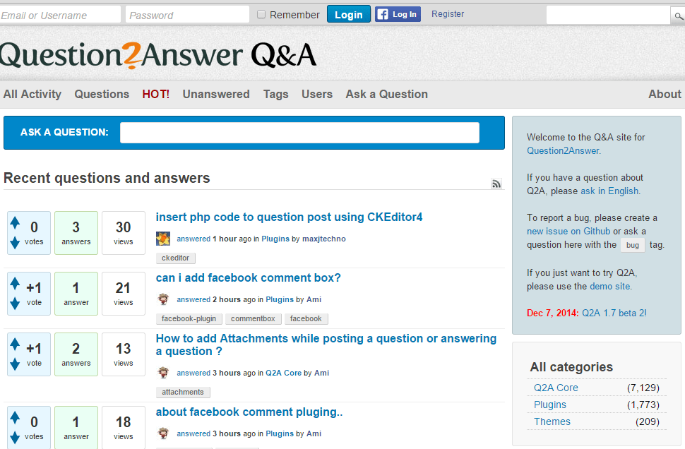 Best Open Source Question and Answer Scripts